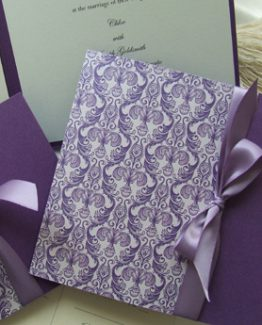 Purple Ornate - Wedding Invitations
