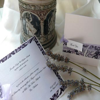 Lavender Dream - Wedding Invitations